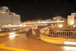 仙台駅西口夜景の写真素材 [FYI04313610]