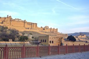 世界遺産の宮殿城塞アンベール城の写真素材 [FYI04313887]