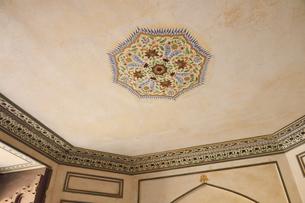 アンベール城内のフレスコ画の写真素材 [FYI04313903]