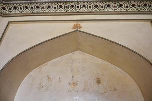アンベール城内のフレスコ画の写真素材 [FYI04313904]