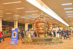 インディラ・ガンディー国際空港の写真素材 [FYI04313965]