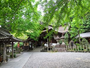 岩間寺本堂の写真素材 [FYI04314147]