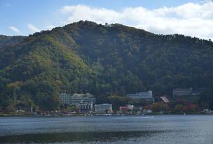 河口湖の富士山パノラマロープウェイの写真素材 [FYI04314200]