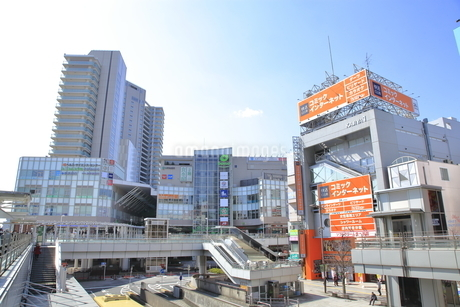 相模大野駅前  小田急線の写真素材 [FYI04315059]