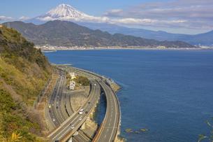 薩た峠から望む富士山の写真素材 [FYI04315185]