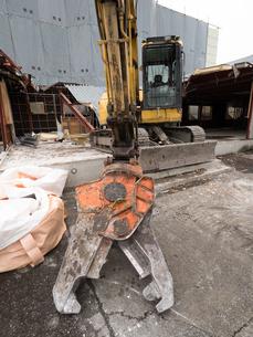 建物の解体工事の写真素材 [FYI04315211]