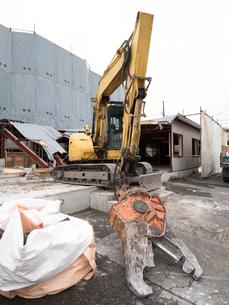 建物の解体工事の写真素材 [FYI04315212]