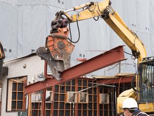建物の解体工事の写真素材 [FYI04315213]