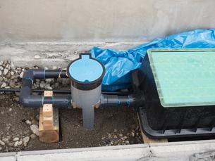 住宅の水道工事の写真素材 [FYI04315219]