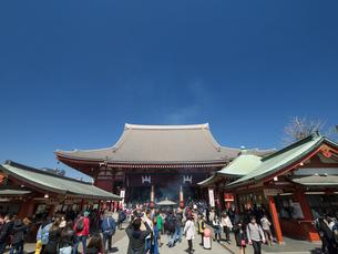 東京都 浅草寺本堂の写真素材 [FYI04315222]