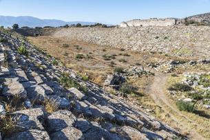 アフロディシアス遺跡競技場の写真素材 [FYI04316163]