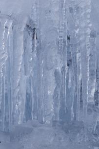冬の氷柱の写真素材 [FYI04316792]