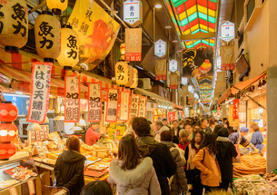 京都 錦市場の写真素材 [FYI04317558]
