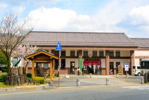 城崎温泉駅の景観の写真素材 [FYI04317593]