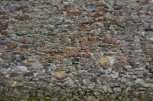 キリシタン教会のドロ壁の写真素材 [FYI04318229]