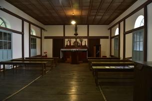 大野教会礼拝堂の写真素材 [FYI04318231]