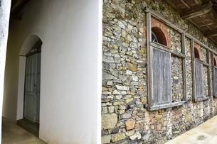 大野教会の特異な建築様式の写真素材 [FYI04318236]