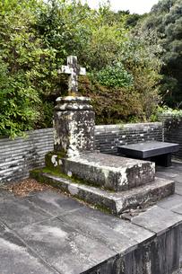 ドロ神父の墓所の写真素材 [FYI04318242]