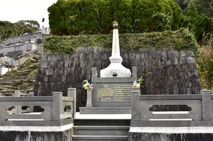 ドロ神父の墓所の写真素材 [FYI04318245]