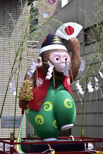 日枝神社猿山車の写真素材 [FYI04318248]