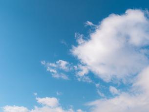 おもしろい雲と空のイメージ素材の写真素材 [FYI04318344]
