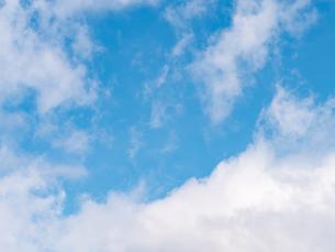 おもしろい雲と空のイメージ素材の写真素材 [FYI04318349]