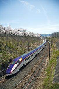 山形新幹線つばさの写真素材 [FYI04318637]