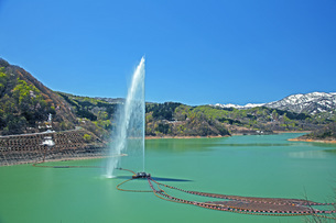 寒河江ダム湖の写真素材 [FYI04318675]