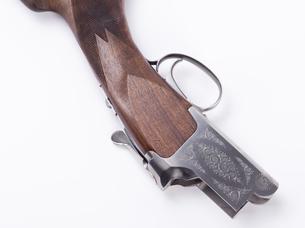 ライフル銃の部品の写真素材 [FYI04318716]
