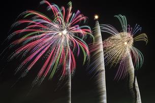 未来へ残したい日本の花火の写真素材 [FYI04318799]