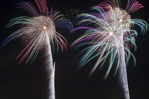 未来へ残したい日本の花火の写真素材 [FYI04318801]