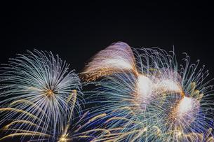 未来へ残したい日本の花火の写真素材 [FYI04318803]