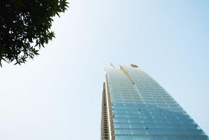 office building under constructionの写真素材 [FYI04319563]
