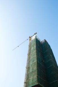 high rise under constructionの写真素材 [FYI04319634]