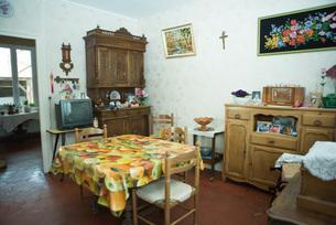 Rustic home interiorの写真素材 [FYI04319682]