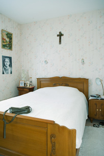 Home interior, bedroomの写真素材 [FYI04319687]