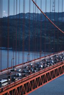 Golden Gate Bridgeの写真素材 [FYI04319785]