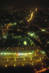 City illuminated at nightの写真素材 [FYI04319792]