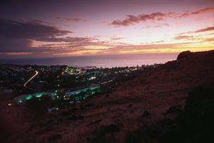 Chamonix at twilightの写真素材 [FYI04319819]