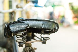 Bicycle seatの写真素材 [FYI04319907]