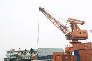 Industrial portの写真素材 [FYI04320557]