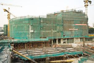 Construction siteの写真素材 [FYI04320623]