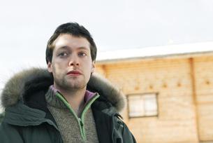 man in winter clothingの写真素材 [FYI04321288]