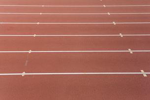 Lanes of running trackの写真素材 [FYI04321705]