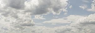 Panoramic shot of cloudy skyの写真素材 [FYI04323220]