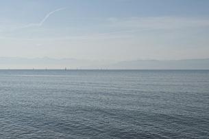 Scenic view of sea against skyの写真素材 [FYI04323223]