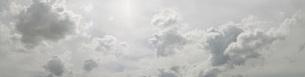 Panoramic shot of cloudy skyの写真素材 [FYI04323227]