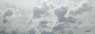Panoramic shot of cloudy skyの写真素材 [FYI04323236]