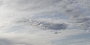 Panoramic shot of cloudy skyの写真素材 [FYI04323237]