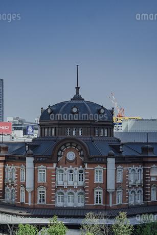 東京駅丸の内駅舎の写真素材 [FYI04330459]
